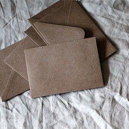 Impresión de sobres y cartas